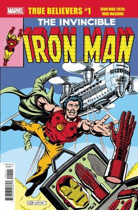 忠实信徒 钢铁侠 战争机器 True Believers Iron Man 2020 War Machine