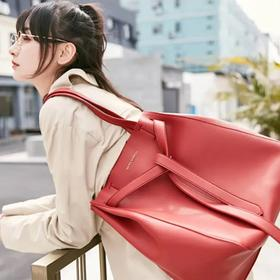 【可授权】2020新款日本MARS SHARING小众品牌水桶包百变手提购物托特包