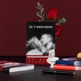 【为思礼】言仓文创吻笔记本文艺插图创意记事本子精致送礼送朋友格调礼物