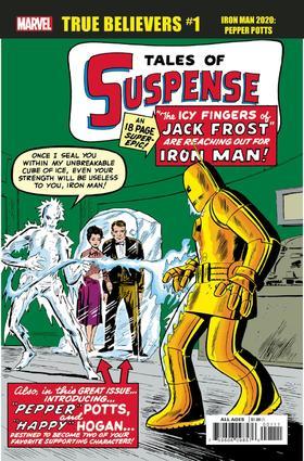 忠实信徒 钢铁侠 小辣椒 True Believers Iron Man 2020 Pepper Potts