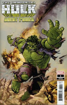 变体 绿巨人 浩克 Immortal Hulk Great Power