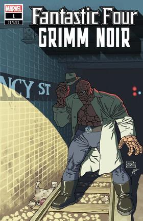 变体 神奇四侠 Fantastic Four Grimm Noir