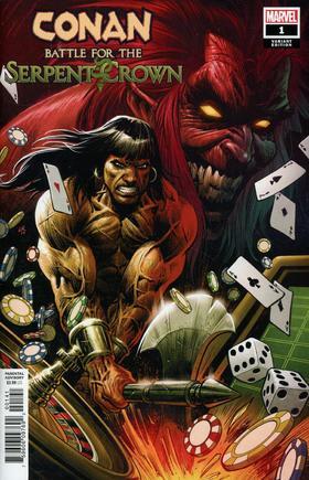 变体 野蛮人柯南 蛇冠之战 Conan Battle For Serpent Crown