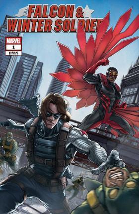 变体 猎鹰与冬兵 Falcon & Winter Soldier