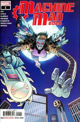 机械人 2020 Machine Man