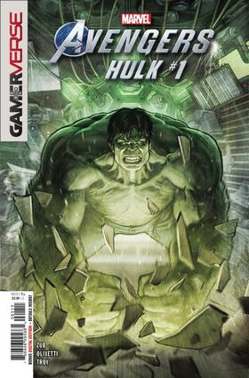 复仇者联盟 绿巨人 浩克 Marvel Avengers Hulk