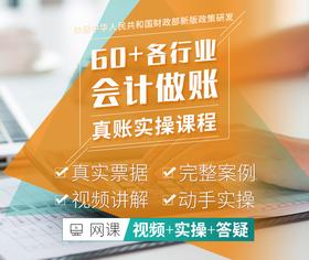 60+行业会计真账实操体验课