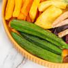 12种综合果蔬干混合装250g 秋葵干什锦果蔬脆脱水蔬菜干零食即食蔬果干健康零食 特惠装果蔬脆 商品缩略图3