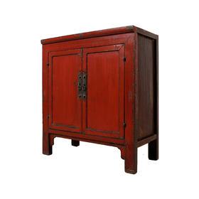 红漆柜中号柜玄关柜Cabinet