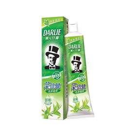 黑人牙膏  茶倍健  龙井绿茶牙膏