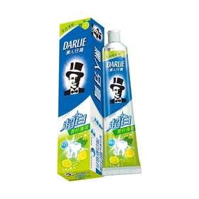黑人牙膏  超白  青柠薄荷