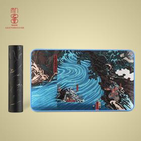 歌川国芳三国艺术桌垫