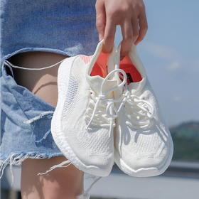 【满满的踩屎感~】MR.ING 阮清风 2020夏季新款透气网面爆米花底情侣男女运动跑步休闲鞋