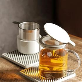 Buydeem/北鼎 玻璃泡茶壶/泡茶杯 耐高温过滤茶具冲茶器花果茶凉水壶