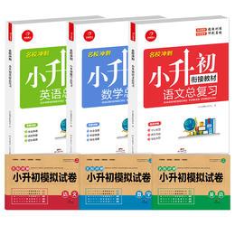 【开心图书】2020新版语数英名校冲刺小升初模拟试卷+小升初总复习全6册