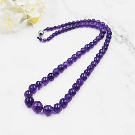 天然紫水晶项链—塔型