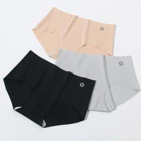 【为思礼】珂宣尼无痕内裤k1不夹裆透气速干爽一片式高弹三角短裤