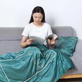 平直堂·艾绒靠枕被  | 一个=靠枕+小被子,坐着睡着赶跑湿寒