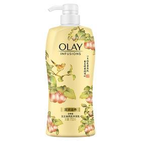 玉兰油Olay蜂蜜沐浴露700ml(限量版少女花漾瓶 无皂基 深润滋养 沐浴乳)-961455