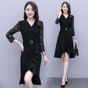 简约个性,优雅百搭时尚连衣裙HR-QY20801