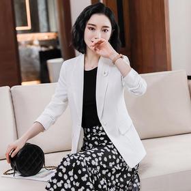 收腰韩版,时尚气质显瘦职业小西装外套QL-YY-2001