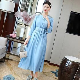 改良版民国风,复古中式连衣裙YFN20181