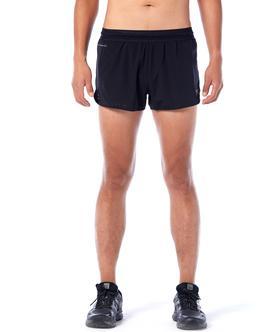 BODYWIT(身体智慧) 男飞天PRO 1.5寸二合一马拉松短裤III跑马拉松比赛越野跑步耐力跑训练慢跑健身徒步运动