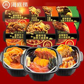 海底捞自煮火锅懒人自助自热小火锅速食网红即食套餐组合一箱荤素