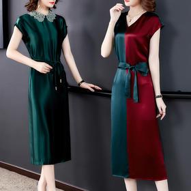 SWY3389新款宽松系带长裙TZF