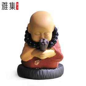 艺福堂 紫砂茶宠/茶玩/茶海摆件整套茶具茶盘配件茶宠