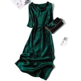 PDD-ALSS200803气质简约修身连衣裙TZF