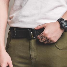 【实用主义/复古美学】美式猎户双环扣腰带