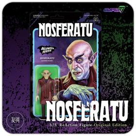 super7 Nosferatu 诺斯费拉图 经典配色版 复古 挂卡 潮玩 摆件
