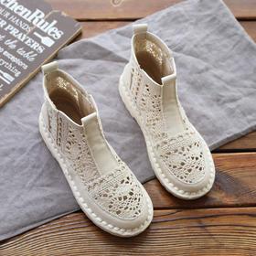 PDD-GGNNH200803新款潮流时尚镂空气质百搭软底凉靴TZF