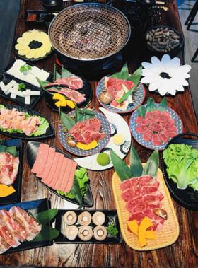 【小更海烧】进口澳洲黑牛与日式烧肉的美味邂逅~!何以解忧,唯有烤肉!现抢超值烤肉套餐仅需99元/188元哦!