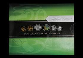 2013年澳大利亚普制流通币6枚装