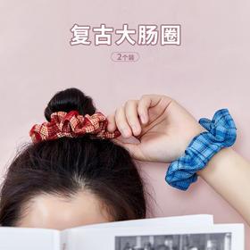 网红ins同款日韩学院风大肠圈头饰头绳发绳橡皮筋发圈大肠圈