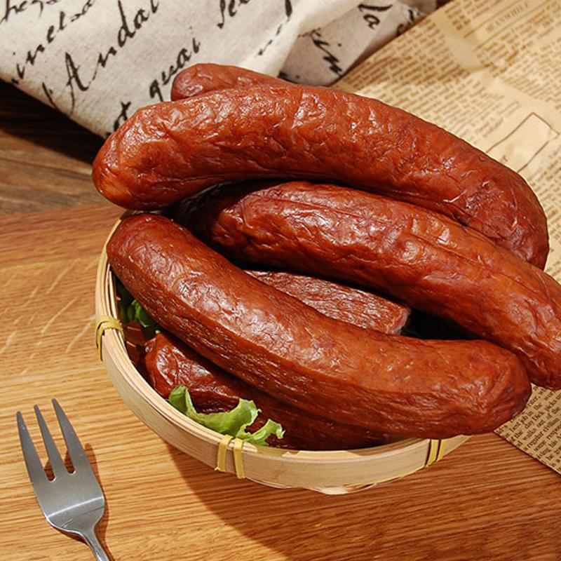 精选 | 荷馨四季哈尔滨风味红肠   传统工艺  肉质饱满有嚼劲 150g/4根 商品图0