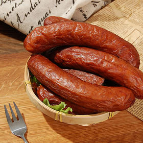 精选 | 荷馨四季哈尔滨风味红肠   传统工艺  肉质饱满有嚼劲 150g/4根