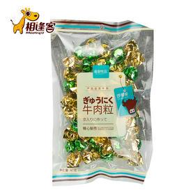质享优品袋装牛肉粒80g    五香味/香辣味/沙爹味