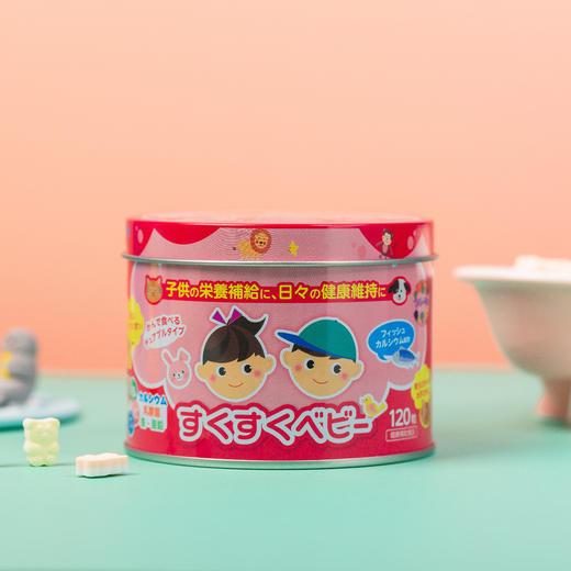 【为思礼】【买一送一】「糖果式钙粒 孩子喜欢不挑嘴」日本ZOVLA儿童综合营养钙片120粒/盒 商品图8