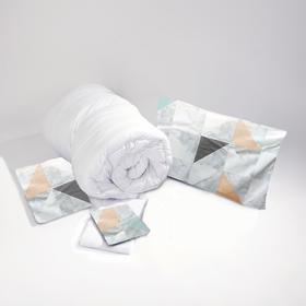 经典款单人床品套装 0.9米宽单人床 床品5件套装