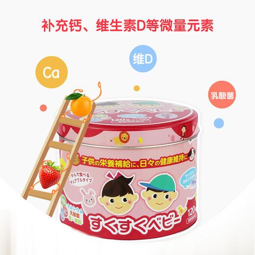 【为思礼】【买一送一】「糖果式钙粒 孩子喜欢不挑嘴」日本ZOVLA儿童综合营养钙片120粒/盒 商品图5