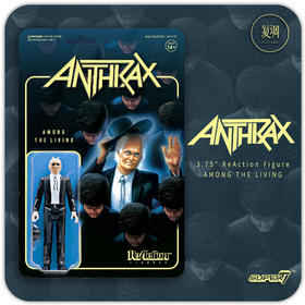Super7 Anthrax 金属乐队 复古 挂卡 潮玩 摆件