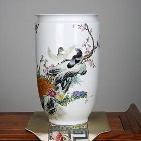 200件花鸟现代瓶