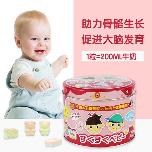 【为思礼】【买一送一】「糖果式钙粒 孩子喜欢不挑嘴」日本ZOVLA儿童综合营养钙片120粒/盒 商品图2