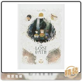 图像小说 英文原版 Lost Path by Chemin Perdu
