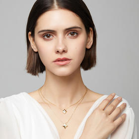C&C钻石项链纯粹系列【买2件领券享8折】 | 明星同款,百元出头的奢华真钻,款款是情话