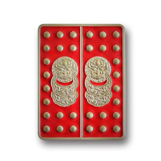 【现货】故宫建成600周年皇家宫门纪念币 商品图1