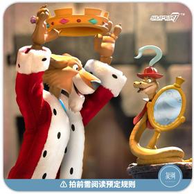 预售 Super7 迪士尼 Prince John 约翰亲王 可动 终极版